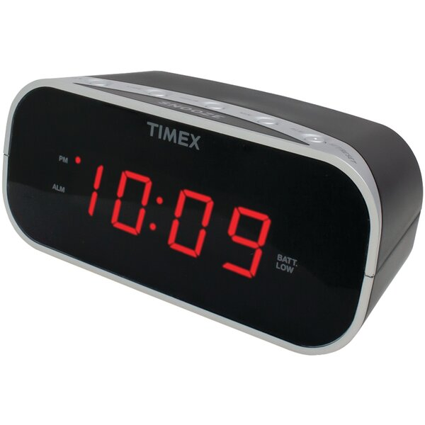 Alarm Tabletop Clock by Timex