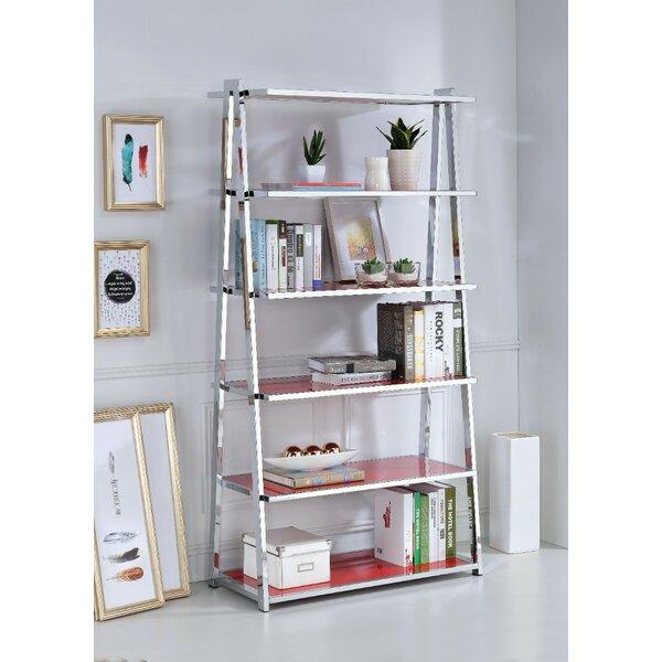 Hook Metal Rectangular Ladder Bookcase by Latitude Run