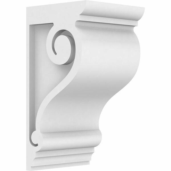 Scroll Standard Architectural Grade PVC Corbel by Ekena Millwork