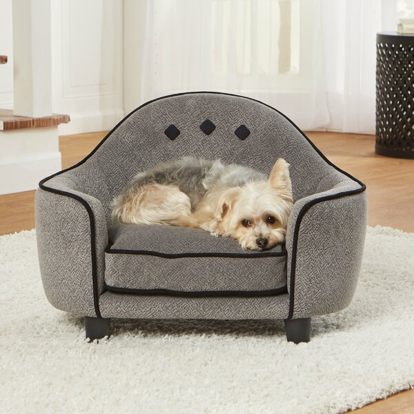 Loughlin Ultra Plush Dog Sofa by Tucker Murphy Pet