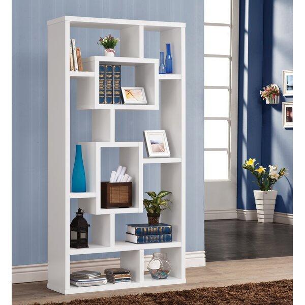 Altunar Geometric Bookcase By Latitude Run