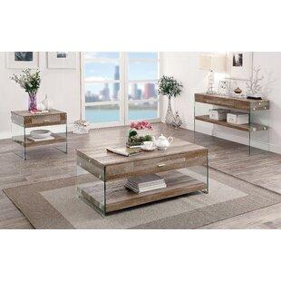 Inexpensive Guero 3 Piece Coffee Table Set ByTrent Austin Design