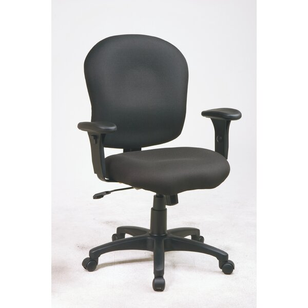 Sculptured Mid-Back Desk Chair by Office Star Products
