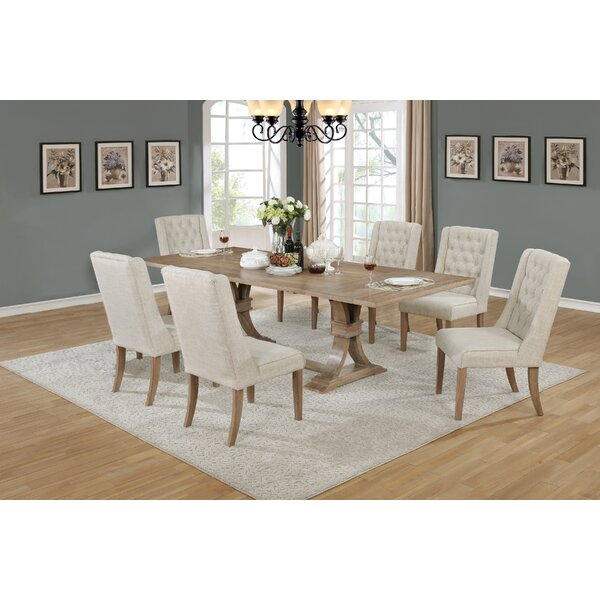 Mexborough 7 Piece Bar Height Extendable Dining Set by Canora Grey Canora Grey