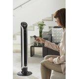 Fresh 8.5 Oscillating Tower Fan with Remote Control byRowenta