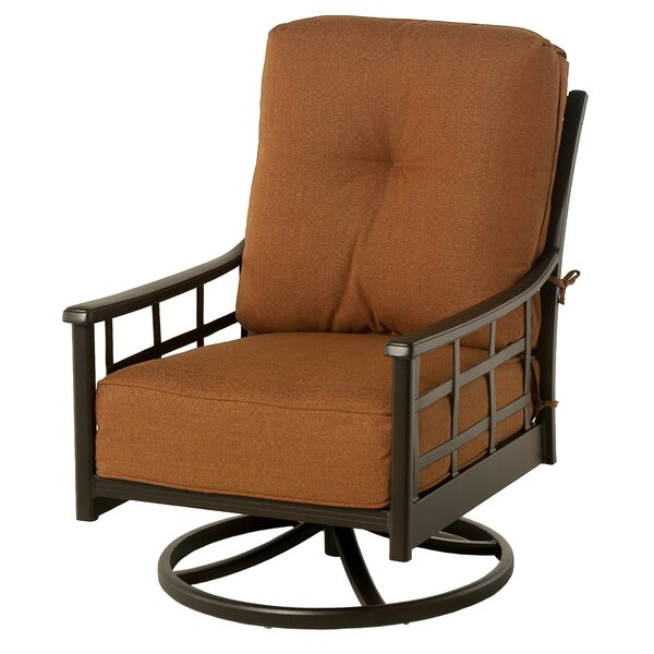 Merlyn Club Swivel Rocking Chair by Fleur De Lis Living