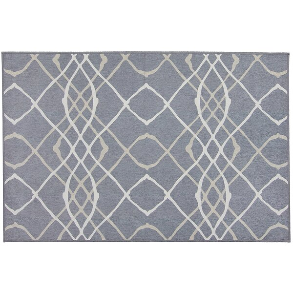 Amara Gray Indoor/Outdoor Area Rug by Ruggable