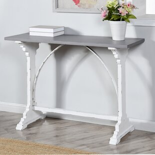 Enrique Distressed Console Table