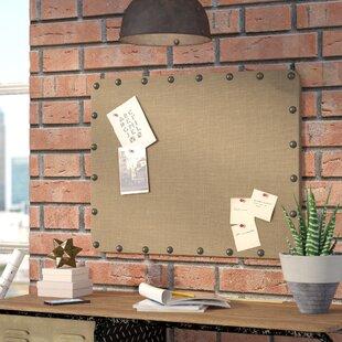 unusual design magnetic bulletin board. Burlap Wall Mounted Bulletin Board  by Trent Austin Design Memo Boards You ll Love