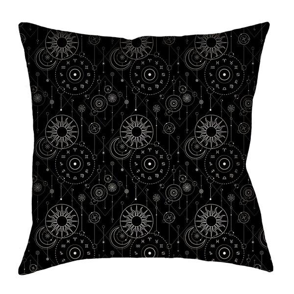 Avicia Astrology Throw Pillow By Latitude Run