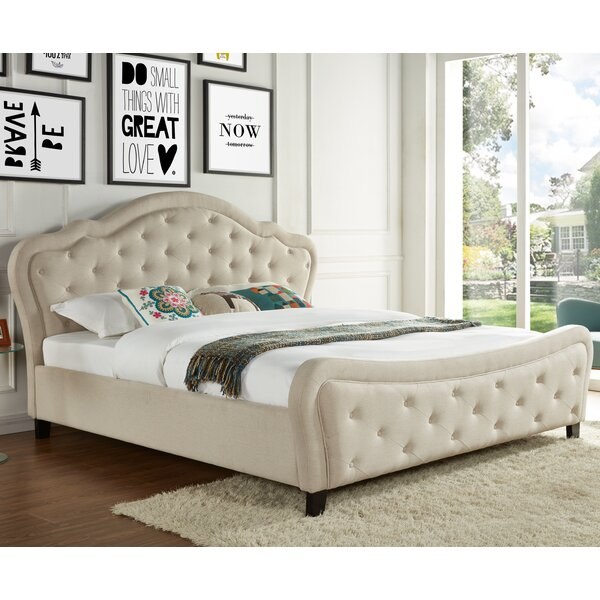 Upholstered Platform Bed by Best Quality Furniture