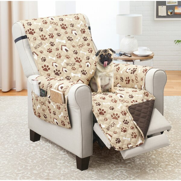 Review Print T-Cushion Recliner Slipcover