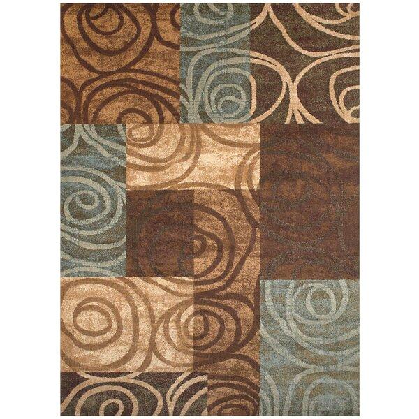 Claribel Brown Area Rug by Ebern Designs