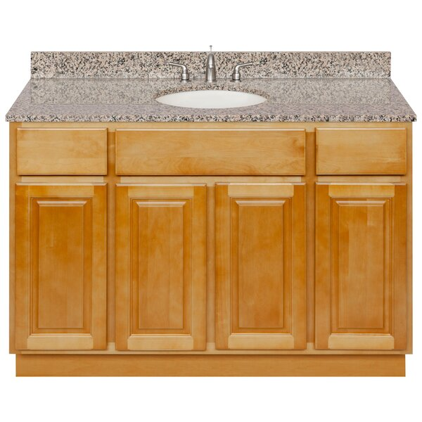 Leiston 48 Single Bathroom Vanity Set by Charlton Home