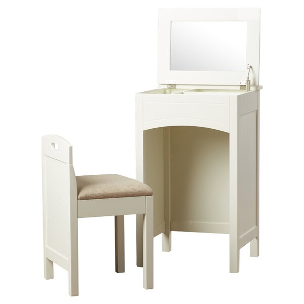 Alcott Hill Corvally Vanity Set With Mirror Amp Reviews