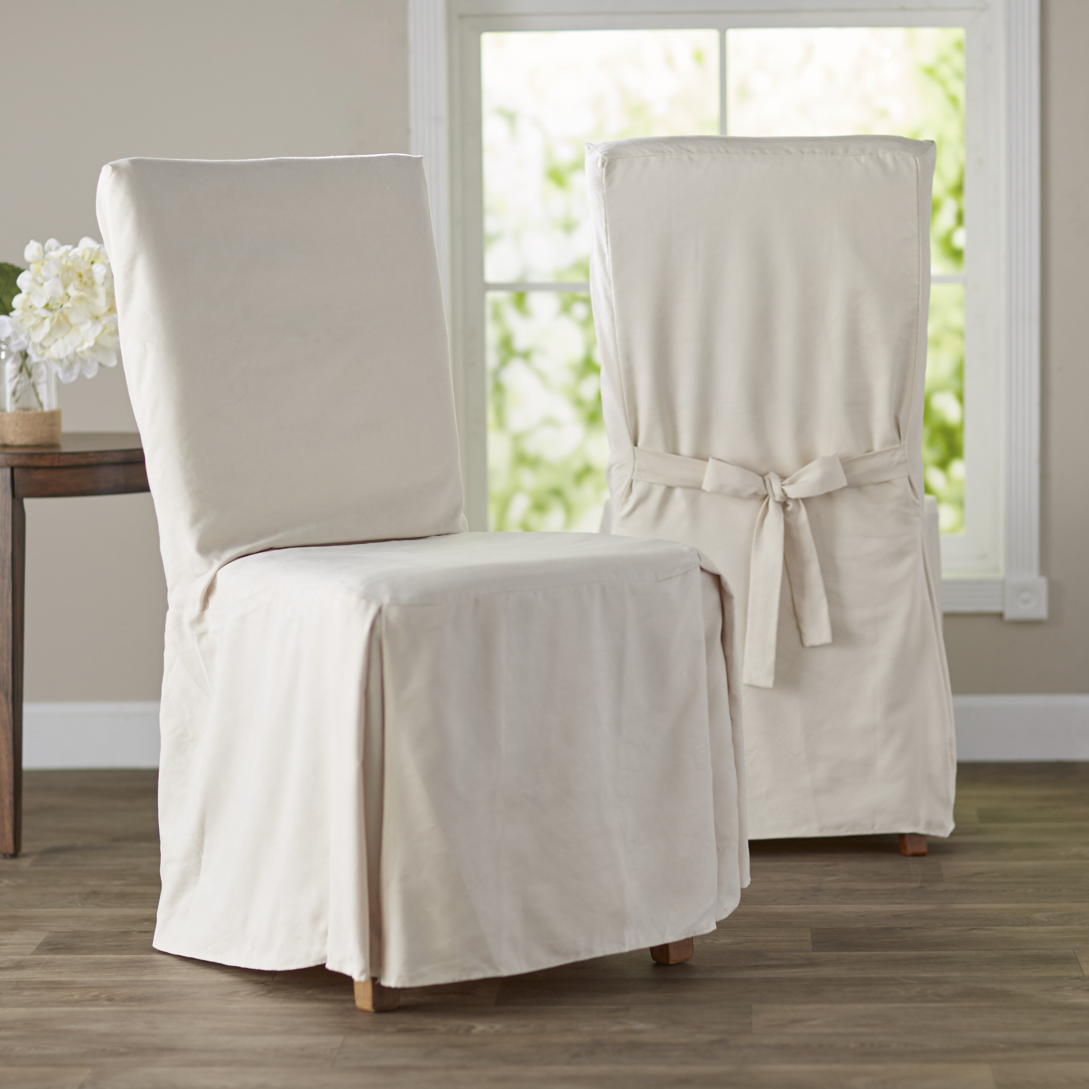 Serta Dining Chair Regular Slipcover U0026 Reviews | Wayfair