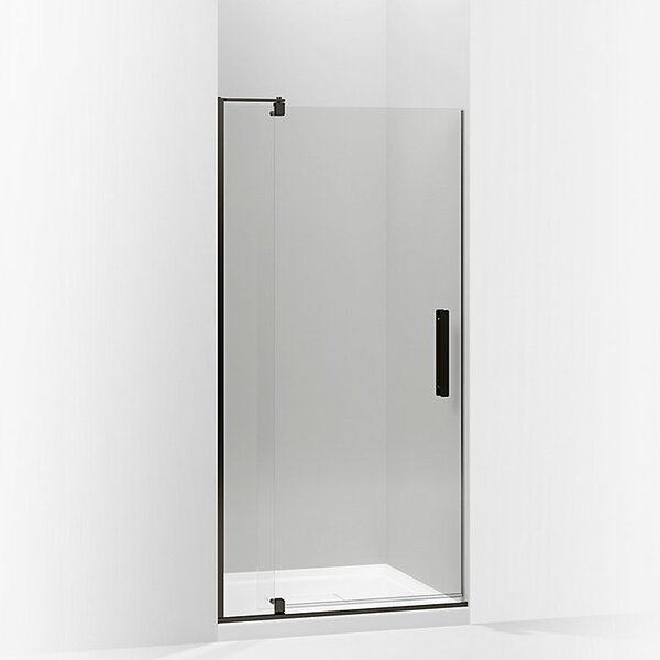 Revel 35.8'' x 70'' Pivot Shower Door with CleanCoat® Technology by Kohler