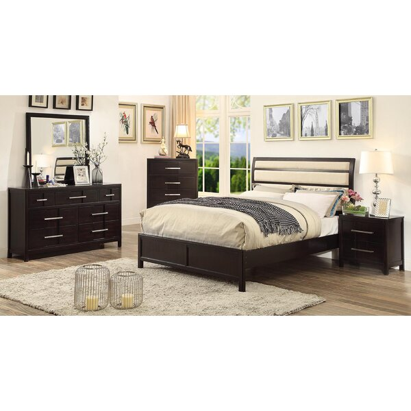 Alona Transitional Upholstered Platform Bed by Latitude Run