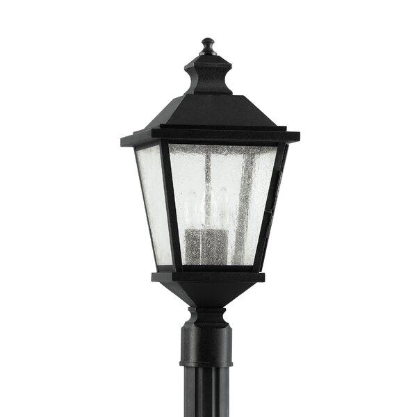 Kawamura Outdoor 3-Light Lantern Head by Darby Home Co