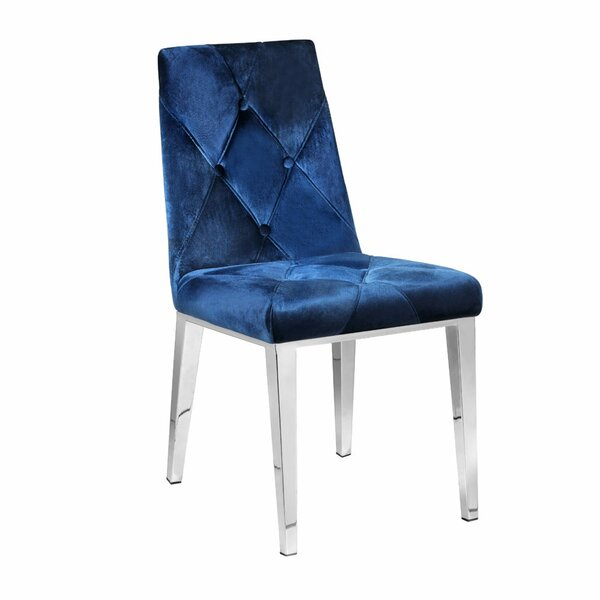 Schell Upholstered Dining Chair (Set of 2) by Rosdorf Park