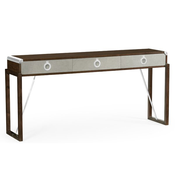 Campaign Console Table By Jonathan Charles Fine Furniture