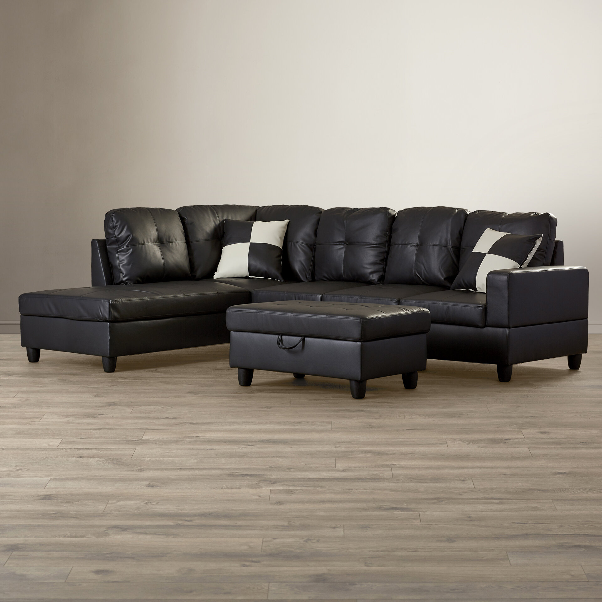 Cool Russ Sectional With Ottoman Ibusinesslaw Wood Chair Design Ideas Ibusinesslaworg