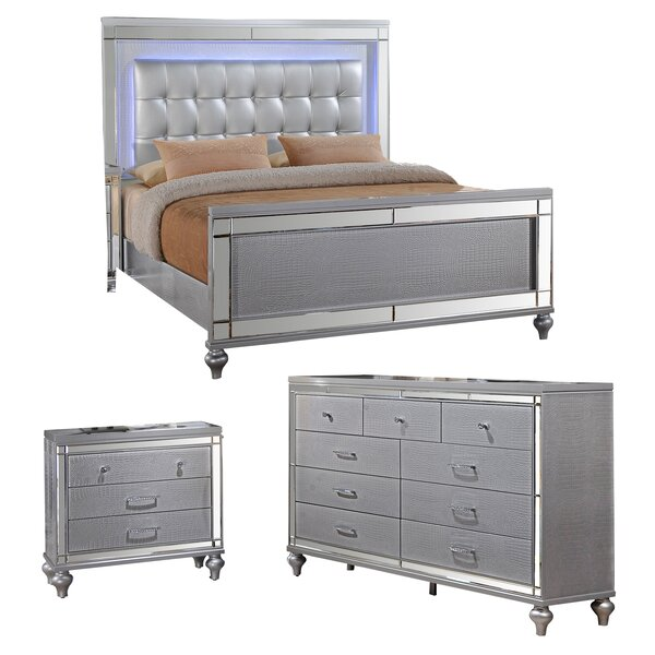 Valencia Platform Configurable Bedroom Set by Willa Arlo Interiors