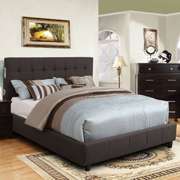 Sedgerock Padded Fabric Upholstered Platform Bed by Wrought Studio