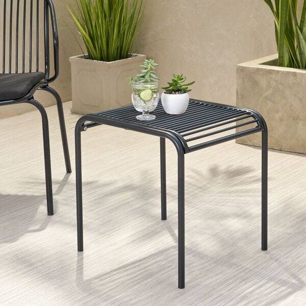 Corbeil Iron Side Table By Ebern Designs by Ebern Designs Discount