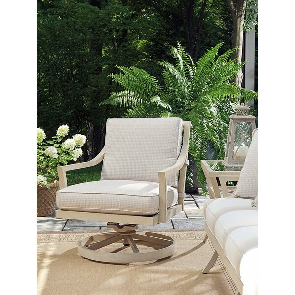 Misty Garden Swivel Armchair by Tommy Bahama Outdo