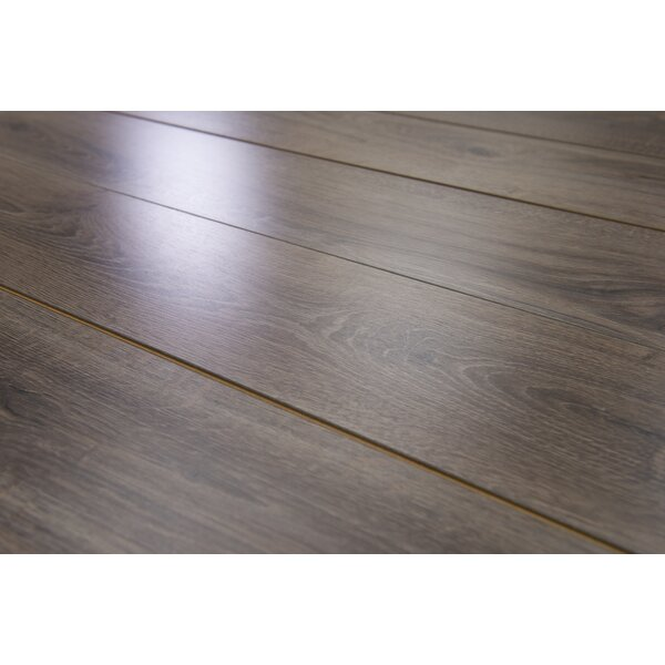Brighton Vario 6 x 48 x 10mm Oak Laminate Flooring in Umber by Branton Flooring Collection