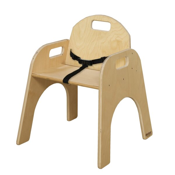 Manufactured Wood Classroom Chair by Wood Designs