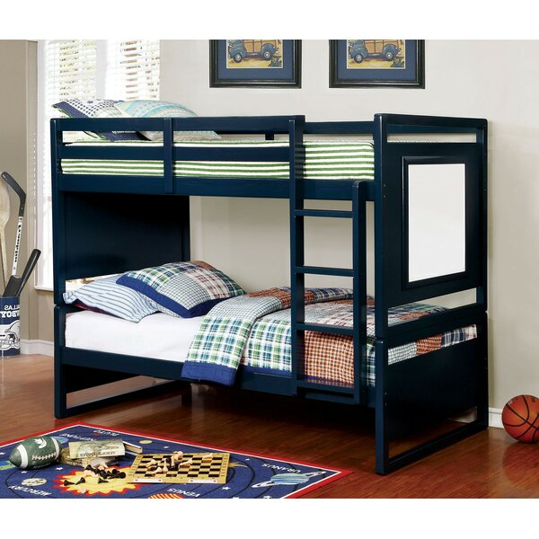 Alcaraz Twin over Twin Bunk Bed by Harriet Bee