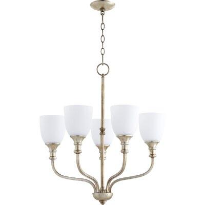Falbo 5 light shaded chandelier