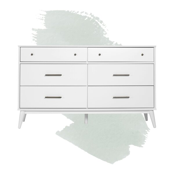 Grady 6 Drawer Double Dresser By Foundstone by Foundstone Bargain