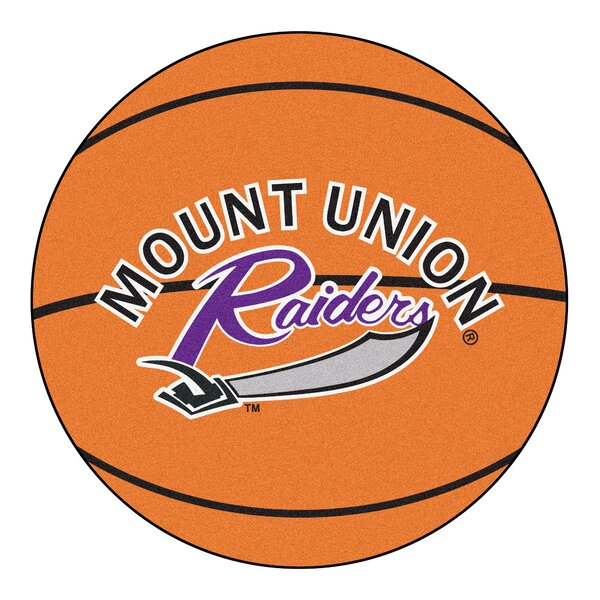 NCAA University of Mount Union Basketball Mat by FANMATS