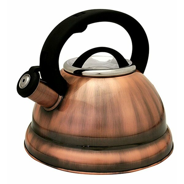 3 Qt. Stainless Steel Whistling Tea Kettle by Imperial Home
