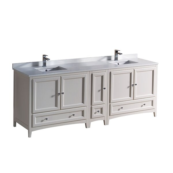 Oxford 84 Double Bathroom Vanity Set by Fresca
