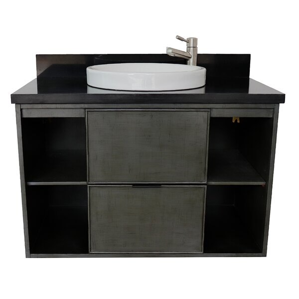 Artresnahan 37 Wall Mounted Single Bathroom Vanity by Bloomsbury Market