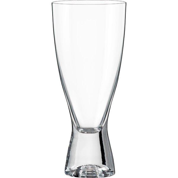 Samba 12 oz. Crystal Highball Glass (Set of 6) by Red Vanilla