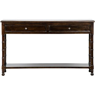 Bamboo Console Table