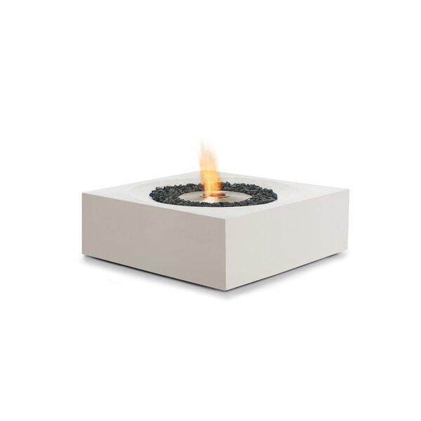 Solstice Concrete Bio-ethanol Fuel Fire Pit Table by Brown Jordan Fires