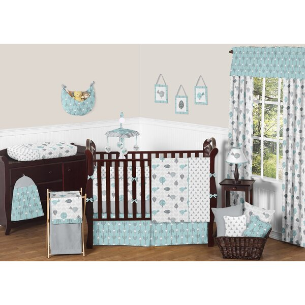 Earth and Sky 9 Piece Crib Bedding Set by Sweet Jojo Designs