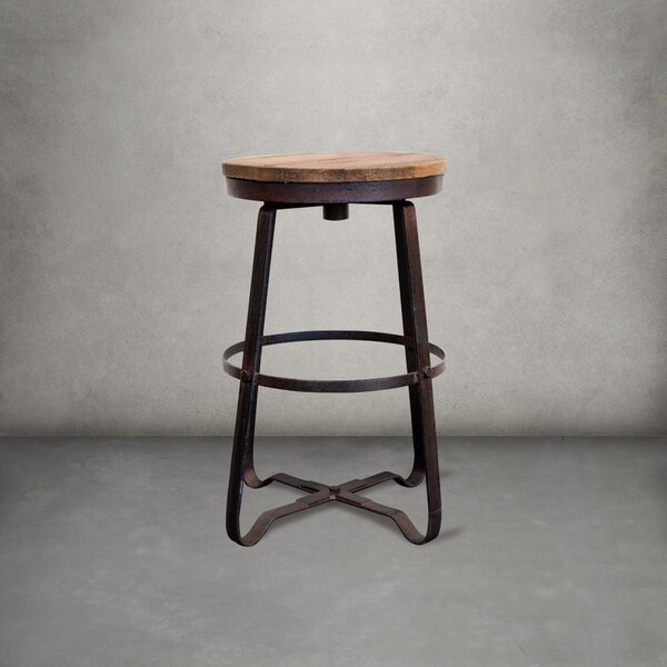 Granado Solid Wood Stool by Williston Forge Williston Forge