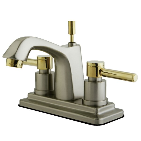 Concord Centerset Bathroom Faucet with Pop-Up Drain