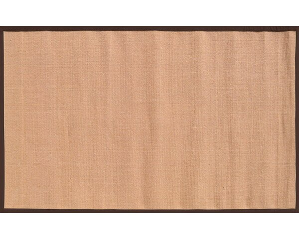 Sangerfield Hand-Woven Tan/Brown Area Rug by Threadbind