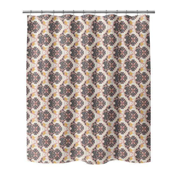 Ginnia Shower Curtain by Bungalow Rose