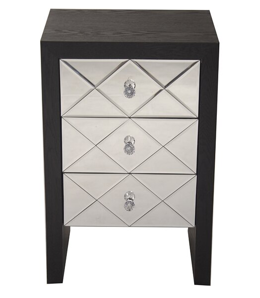 Marci 3 Drawer Accent Chest by House of Hampton House of Hampton