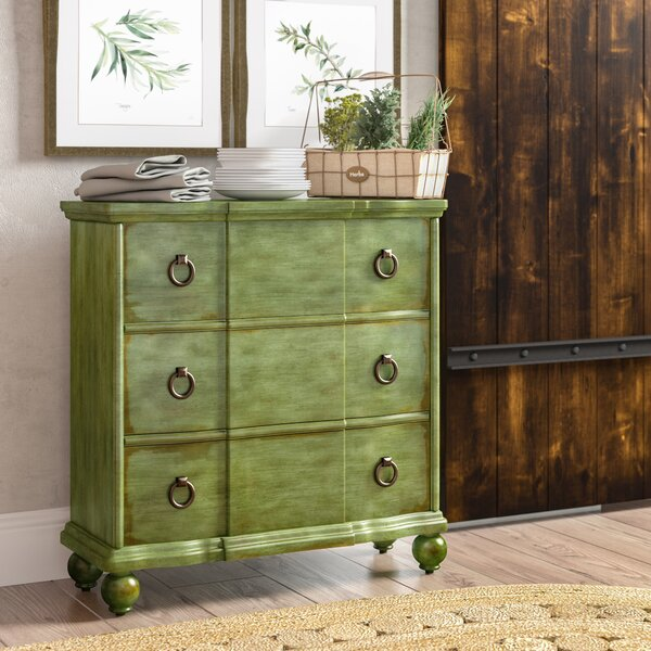 Bartouille 3 Drawer Chest by Laurel Foundry Modern Farmhouse