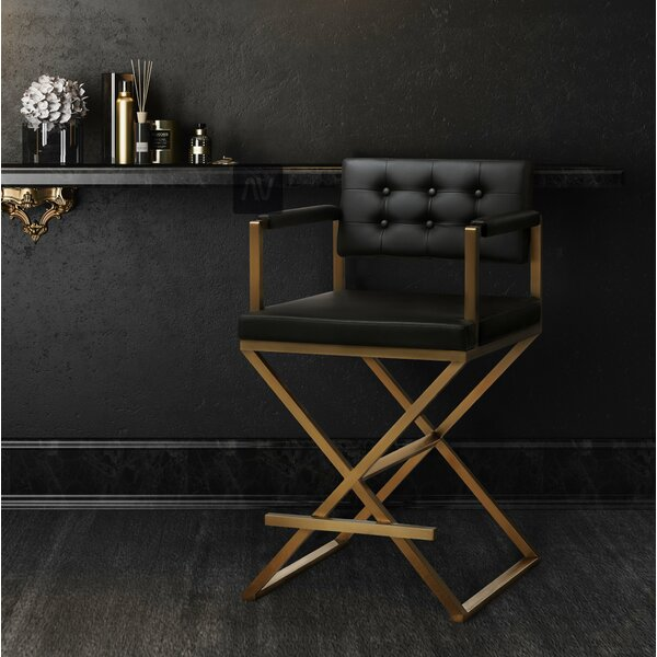 Laurenza Steel Bar Stool by Willa Arlo Interiors